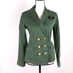 CAbi Sergeant Military Inspired Jacket Size XS